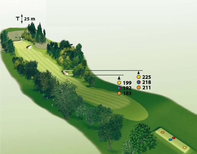 Spielbahn Golfclub Beuerberg Loch 10