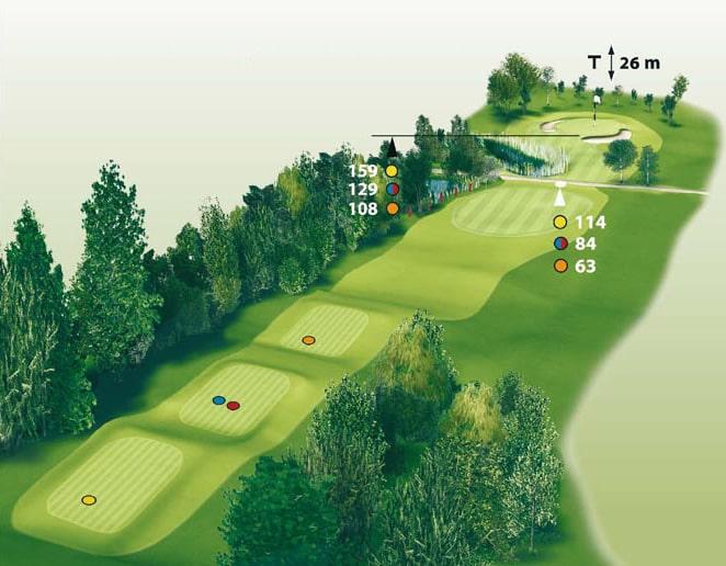 Spielbahn Golfclub Beuerberg Loch 11