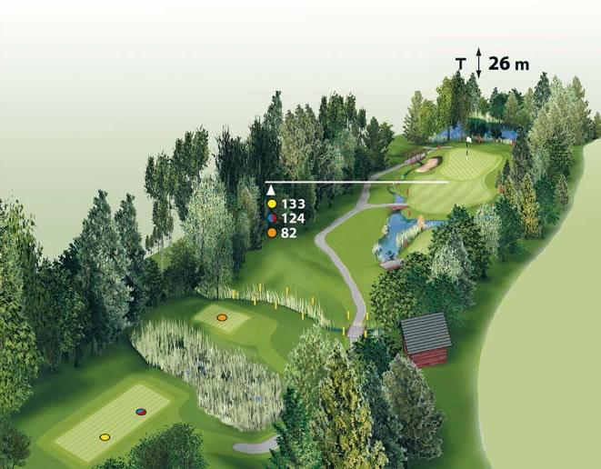 Spielbahn Golfclub Beuerberg Loch 14
