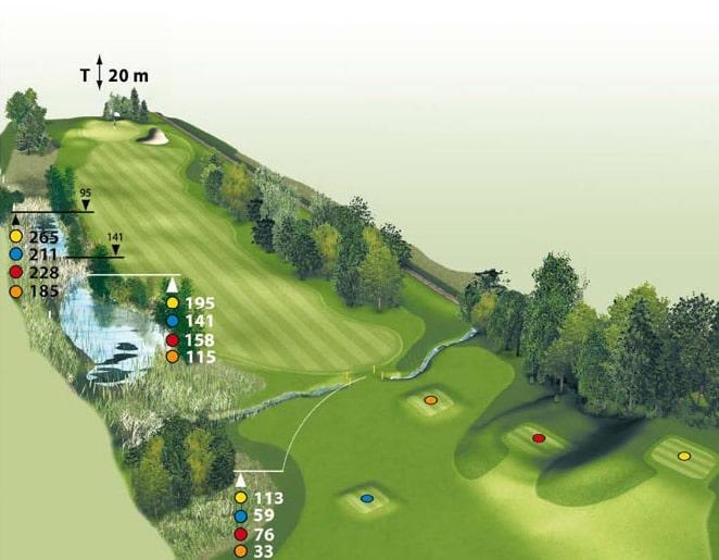 Spielbahn Golfclub Beuerberg Loch 2