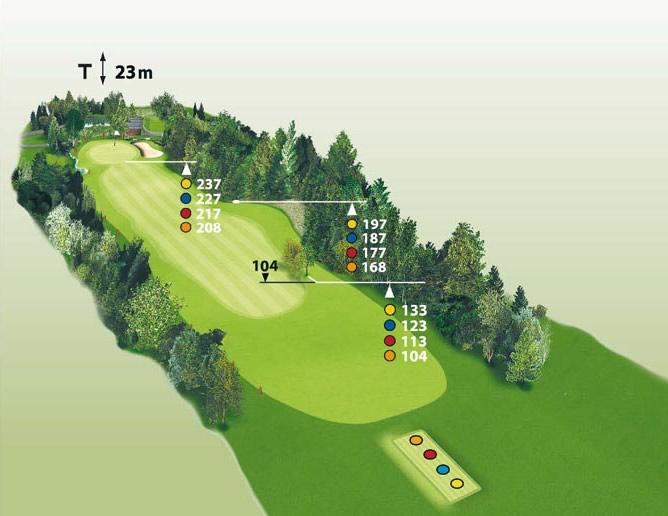 Spielbahn Golfclub Beuerberg Loch 5