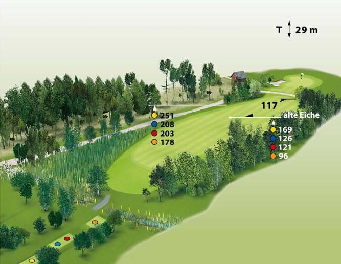Spielbahn Golfclub Beuerberg Loch 7